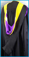 Graduation Hoods - Bachelors Hoods, Master Hoods, Doctoral Hoods