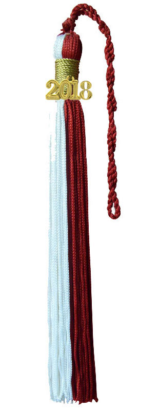 Double Color Graduation Tassel