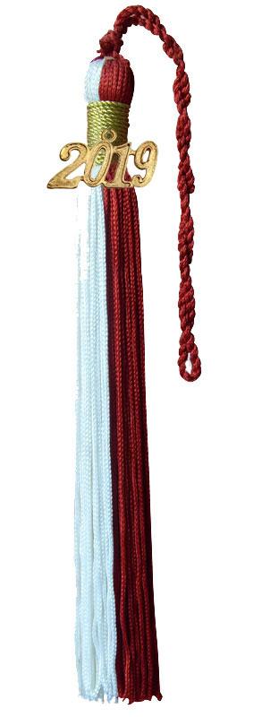 Graduation Tassel with Year Tag