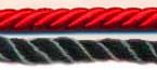 Honor Cord - DARK RED AND BLACK COLOR honor cords