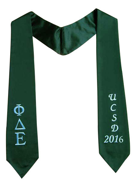 Graduation Stole - Click here for view details