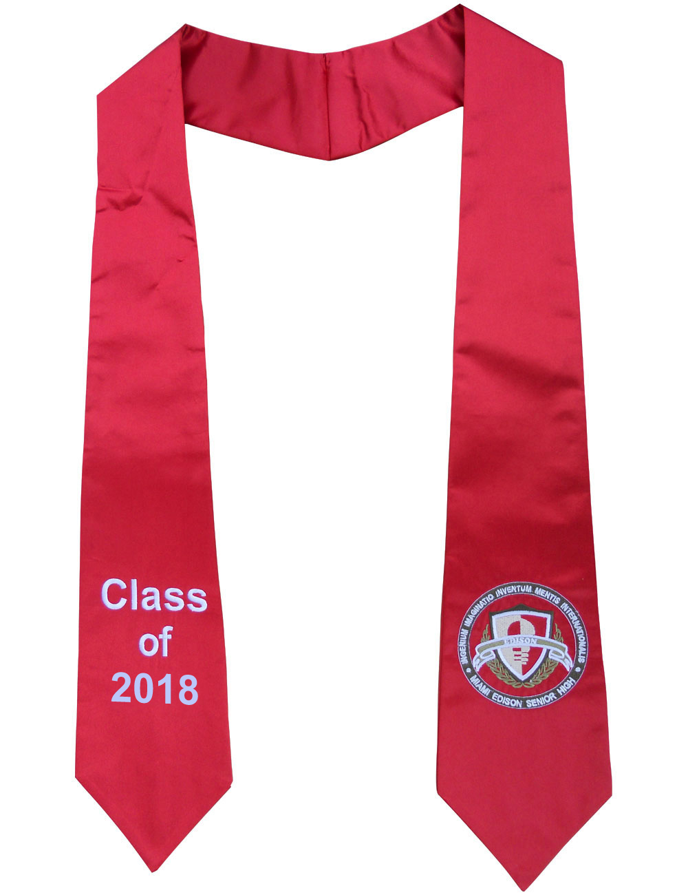 Graduation Stoles - 100% Polyester Satin Fabric