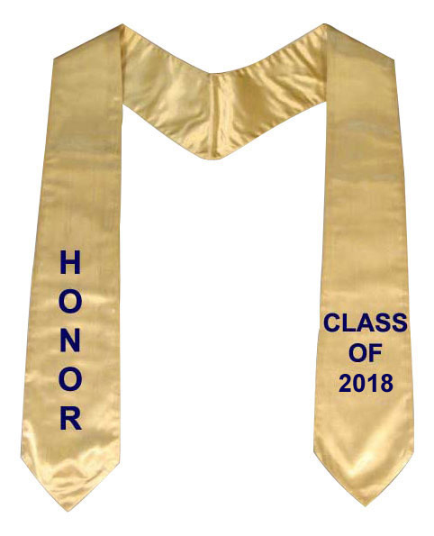 Graduation Stoles - Stole,  Sashes, Sash, Stoles
