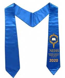 stoles with logo